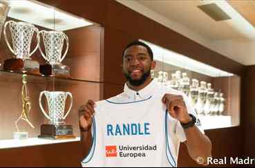 Randle, nuevo jugador del Real