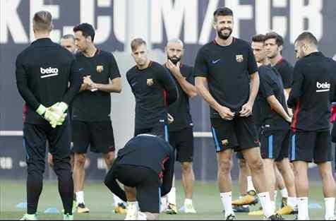 Alarma en el Barça por el estado de salud de un delantero