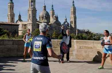 Arranca el Worl Padel Tour a su paso por Zaragoza