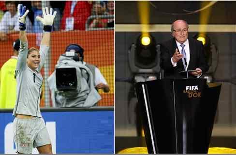 Un nuevo escándalo para Blatter: lo acusan de acoso sexual