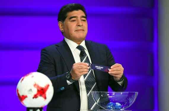 Maradona asistirá al sorteo del Mundial y será la gran estrella del evento