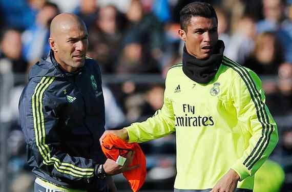 Zinedine Zidane tiene al sustituto de cristiano Ronaldo en el Real Madrid