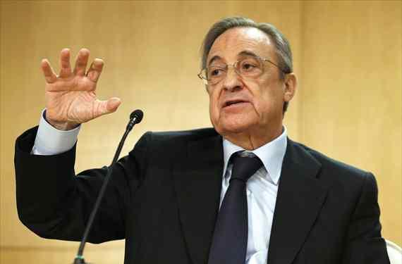 Florentino Pérez destroza a un crack del Real Madrid para elogiar a uno del Barça