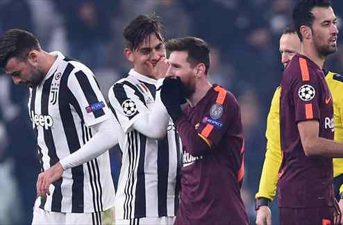 La confesión más bestial de Dybala a Messi después del empate entre Juventus y Barça