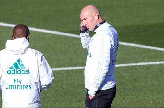 La negociación secreta en Madrid que se lleva a un crack de Zidane