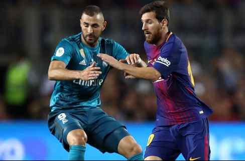 Benzema la lía en las redes sociales con un recadito para Leo Messi