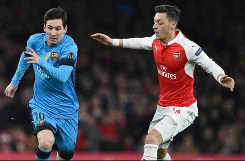 El palo descomunal que Özil le quiere pegar al Barça indigna a Leo Messi