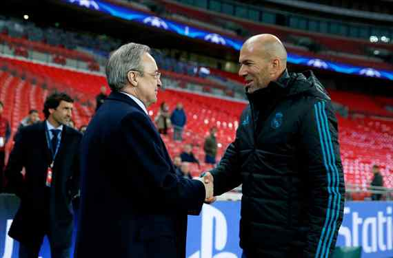 El regalo de Navidad de Florentino Pérez para Zidane: el fichaje bomba para el Real Madrid