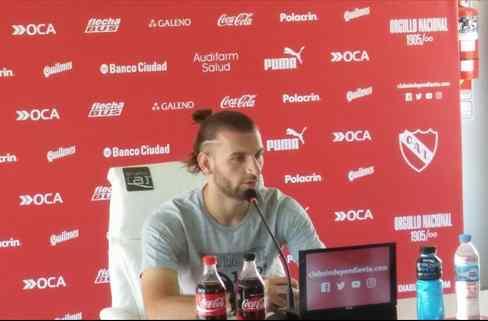"""""""Venir a Independiente fue una de las mejores decisiones de toda mi carrera"""""""