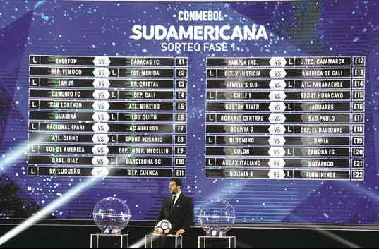 La Sudamericana deparó ¡tres cruces con brasileños!