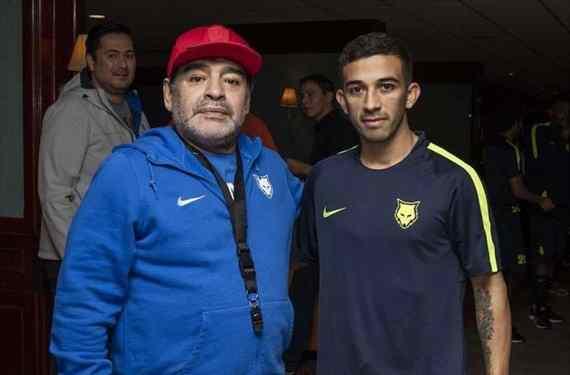 La mano que le dio Diego Maradona a Riestra para ayudarlo con el descenso