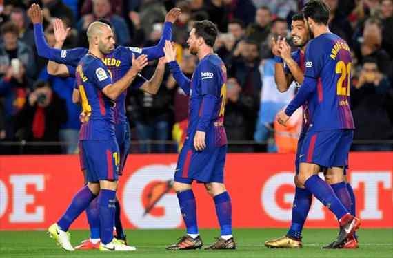 La goleada al Celta destapa un lío en el Barça con recadito a Yerry Mina (y de Piqué a Sergio Ramos)