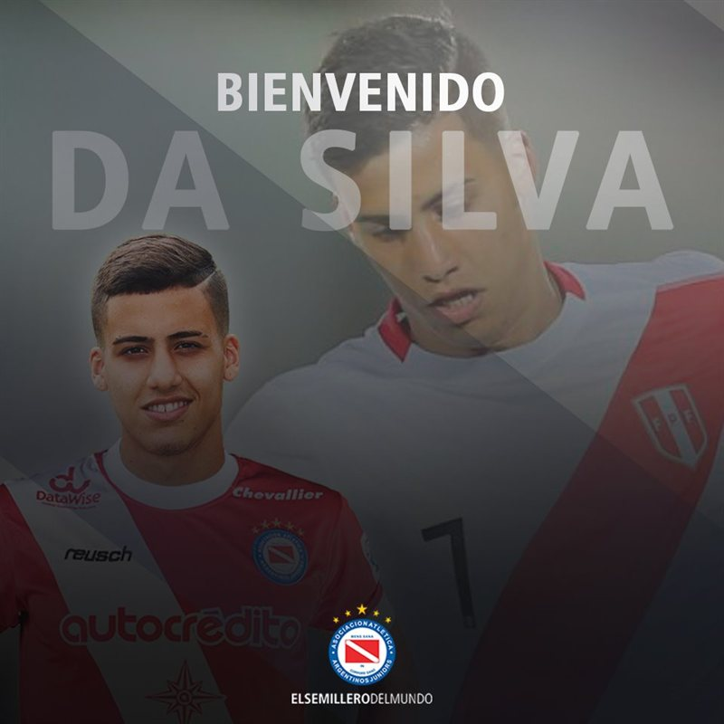 Beto da Silva es nuevo refuerzo de Argentinos Juniors