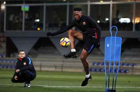 Valverde suelta una bomba sobre Yerry Mina que revoluciona el vestuario del Barça