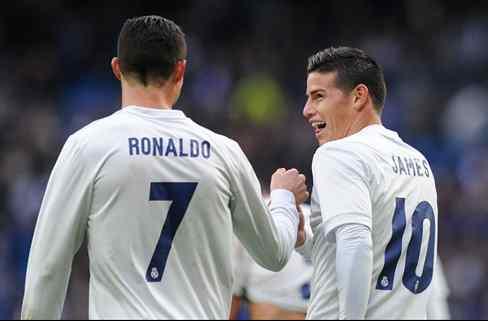 James Rodríguez filtra qué tres jugadores del Real Madrid están hartos de Cristiano Ronaldo