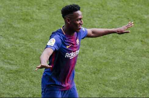 Yerry Mina tiene la primera bronca en el Barça (y James Rodríguez mete a Colombia en el lío)