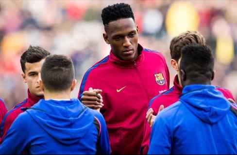 Yerry Mina cuenta el lío antes del Chelsea - Barça: la bronca entre Messi y Valverde
