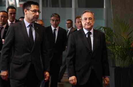 Aviso a Florentino Pérez: el Barça se mueve para quitarle un fichaje al Real Madrid