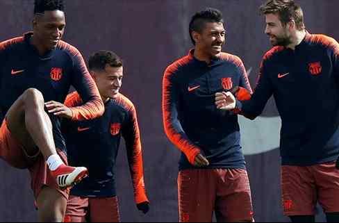 Piqué lidera la reunión que saca a Yerry Mina del Barça (y ya se sabe su destino)