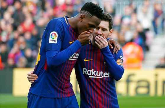 Yerry Mina resuelve su futuro en el Barça en una reunión relámpago