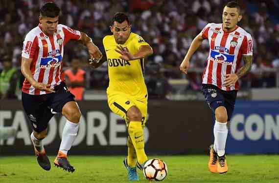 Boca empató en Barranquilla y todavía está con vida en la Copa
