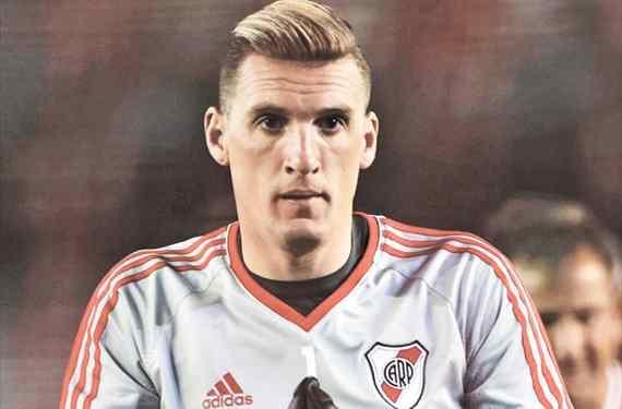 """""""Me imaginé dando la vuelta con la Copa Libertadores en el Monumental"""""""