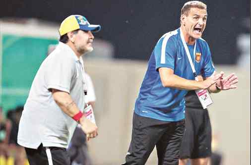 """""""Haber dirigido junto a Diego fue un placer y una gran responsabilidad"""""""