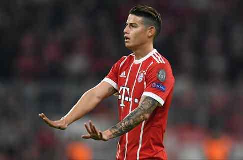James Rodríguez filtra un fichaje del Bayern que torpedea un objetivo de Florentino Pérez