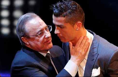 Florentino Pérez descarta un fichaje por caro (y le cambia la cara a Cristiano Ronaldo)