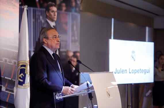 El fichaje estrella de Florentino Pérez que no quiere ir al Real Madrid por Julen Lopetegui