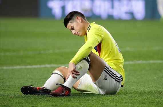 Y lo peor para James Rodríguez no fue el Colombia-Japón: el grande que lo deja tirado