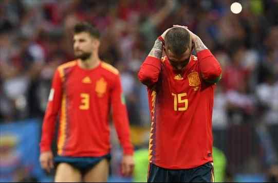 Lo que pasó entre Sergio Ramos y Gerard Piqué tras el fracaso de España en el Mundial