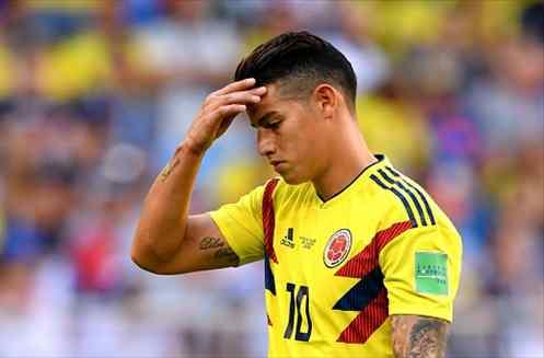 James Rodríguez reacciona al desastre de España en el Mundial (y la que se lía en Colombia)