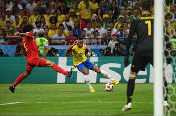 ¡Se confirma! La peor noticia para Neymar tras el Brasil-Bélgica (y Hazard mete baza)