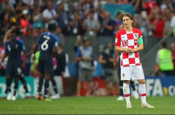 Luka Modric se lo confiesa a Rakitic: el croata que Florentino Pérez tiene en su agenda