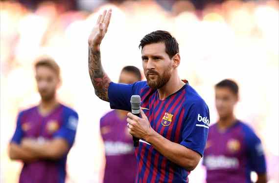 Messi revienta el Gamper con un Top Secret: el galáctico que ficha por el Barça (y tiene fecha)