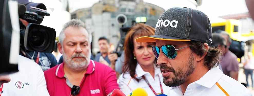 Pobre Fernando Alonso. Vete ya porque te comen vivo: más palos al piloto de McLaren