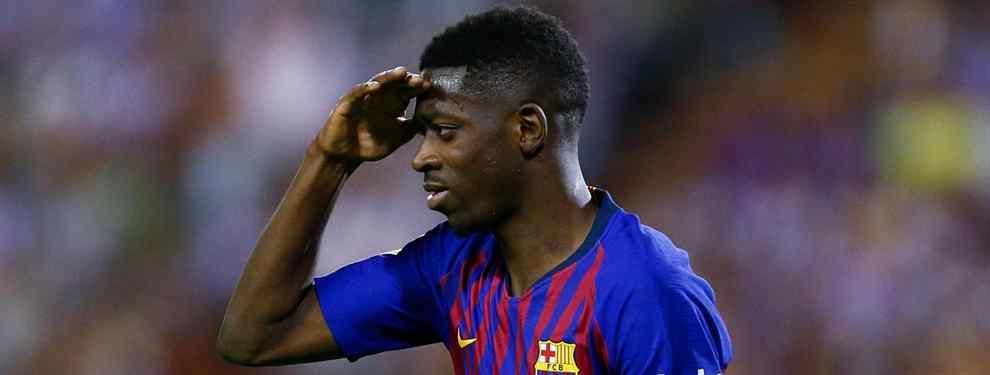 Ousmane Dembélé tiene un secreto entre manos. Tres ofertas que tiene sobre la mesa que revolucionan el Camp Nou. El francés está más de moda que nunca.