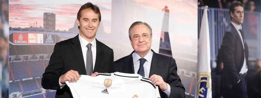 Julen Lopetegui conoce perfectamente los planes de Florentino Pérez para el mercado de fichajes. El técnico vasco le hace hueco a un galáctico en el Real Madrid.