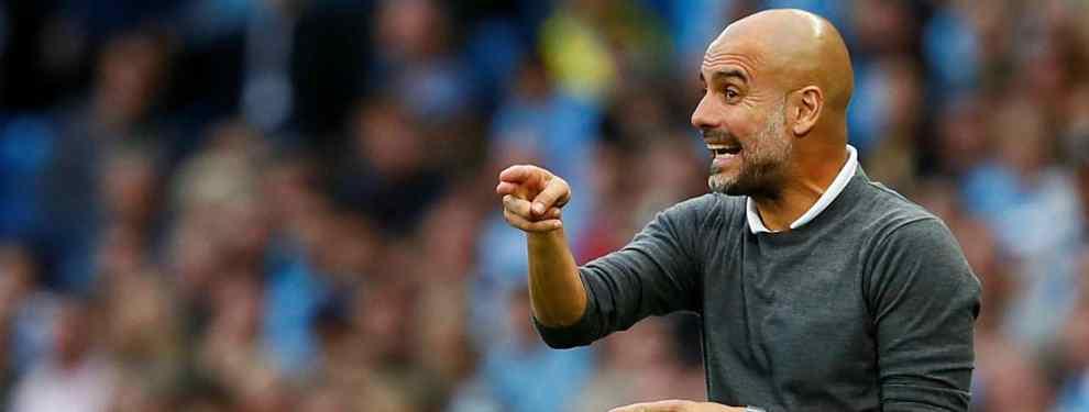 Pep Guardiola quiere a una estrella para su Manchester City. El técnico catalán descuelga el teléfono y mete en un lío al Barça llevándose a un crack a la Premier League.