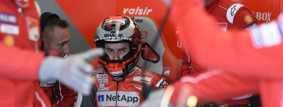 Jorge Lorenzo no tiene perdón. No para Claudio Domenicali, capo de Ducati, que sigue reiterando que cargarse al español ha sido y es la mejor decisión.