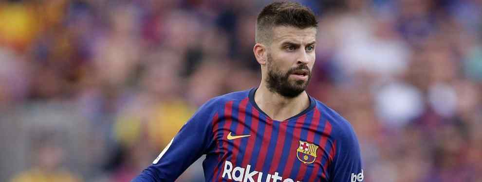 Gerard Piqué, central del Barça que entrena Ernesto Valverde, tiene sobre la mesa una propuesta de alto voltaje para abandonar el Camp Nou (y Shakira la ve con muy buenos ojos)