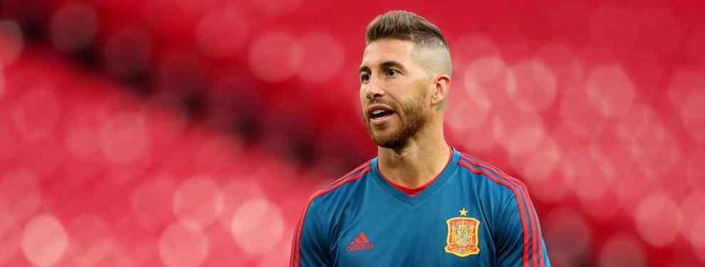 En el Real Madrid no se descarta un golpe en la mesa para el mercado de invierno. Sergio Ramos recibe el chivatazo sobre un crack que controla Florentino Pérez.