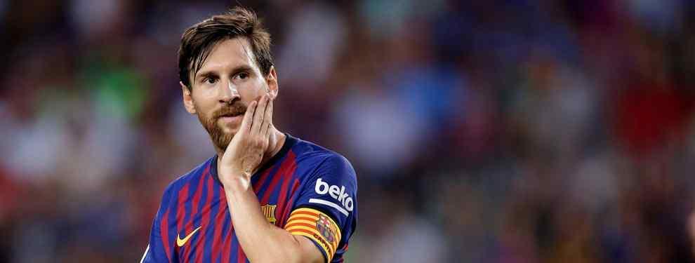 Leo Messi sabe que el futuro de Ernesto Valverde en el Barça está en el aire. El conjunto azulgrana maneja varias alternativas por si el Txingurri decide marcharse.