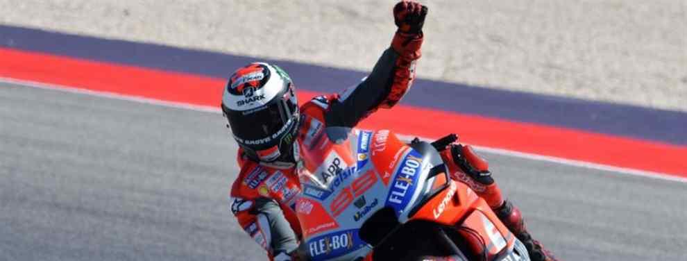 Marc Márquez pone en su sitio a Jorge Lorenzo en San Marino (y el 'recadito' a Ducati)