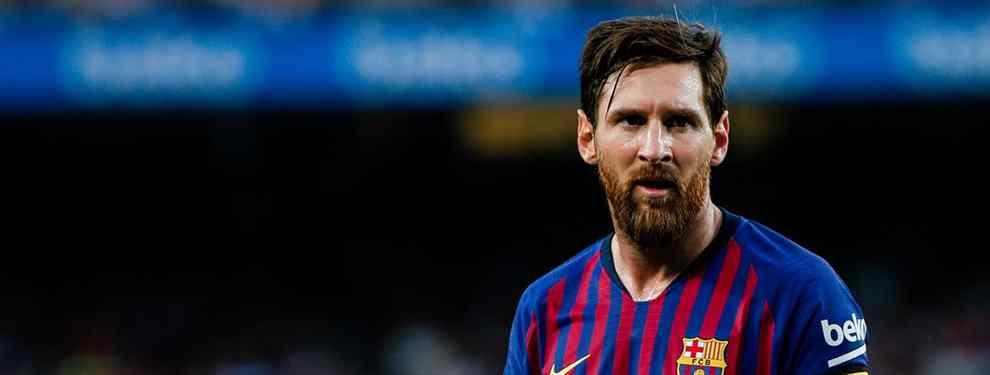 Messi lo sabe: la lista de fichajes que le pasa Valverde al Barça para el mercado de invierno