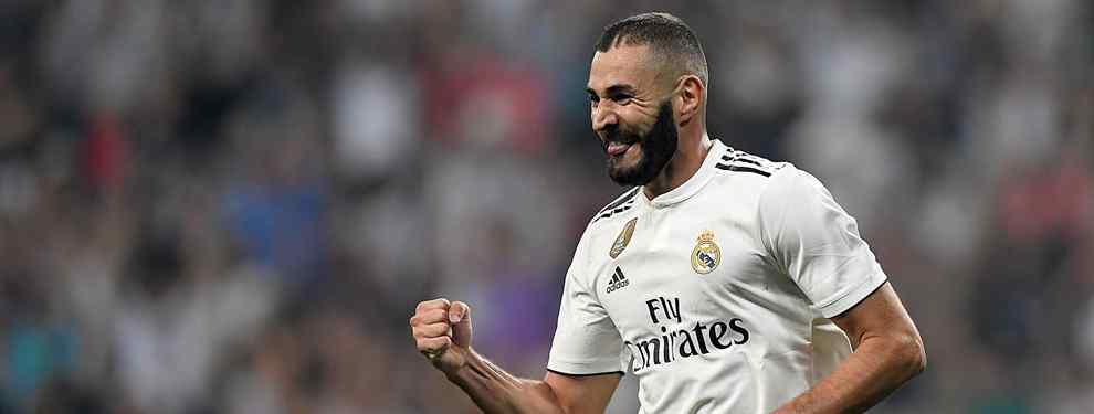Benzema y la negociación secreta con un '9': la traición dentro del Real Madrid