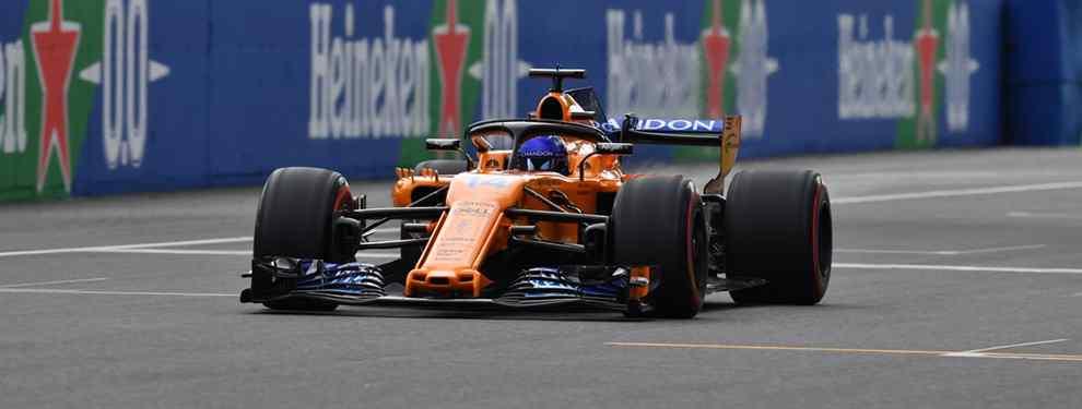 Fernando Alonso parece un disco rayado: lo de McLaren es de risa