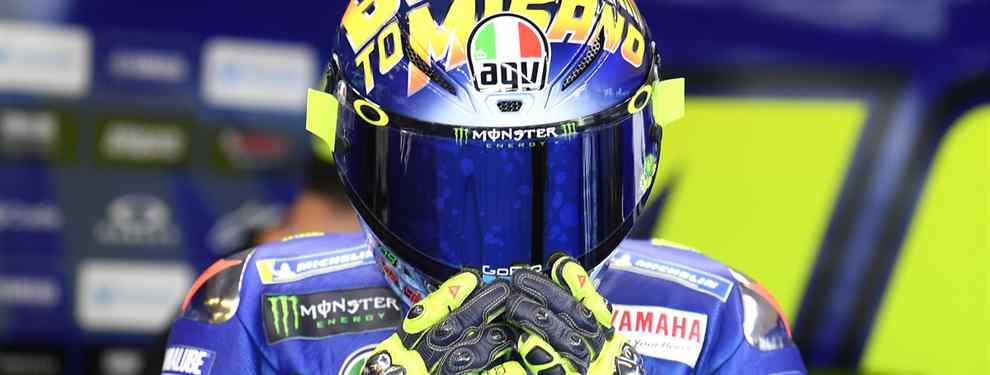 Valentino Rossi saca las miserias de Yamaha con un rajada de libro