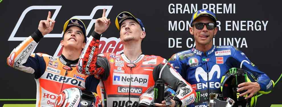 Jorge Lorenzo, Marc Márquez y Valentino Rossi tienen un nuevo enemigo en MotoGP
